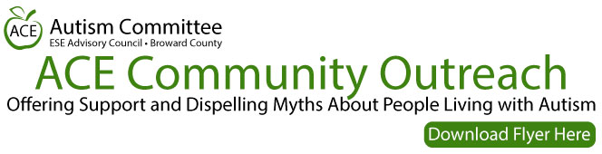 ACE Community Outreach. Offering Support and Dispelling Myths About People Living with Autism
